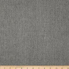 ROCKER - Ramtex Upholstery Chevron Herringbone Parker Feather Fabric By The Yard $8/yrd