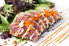 Gojee - Pan-Seared Sesame-Crusted Tuna by Use Real Butter