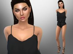The Sims Resource: Brandie James by divaka45 • Sims 4 Downloads