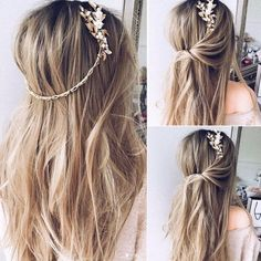 Featured Hairstyle: Ulyana Aster; www.ulyanaaster.com; Wedding hairstyle idea. #weddinghairstyles