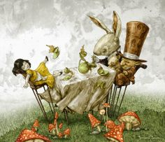 Fernando Falcone ~ A Mad Tea Party