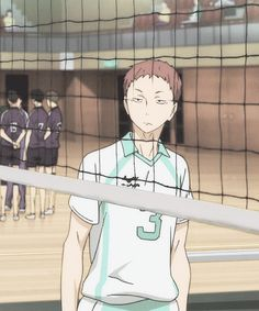 Haikyuu Tumblr, Haikyuu Gif, Haikyuu Karasuno, Haikyuu Funny, Haikyuu Ships, Matsukawa Issei, Volleyball Anime, Handsome Anime Guys, Iwaoi