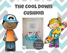 Cool Down Cushion Behavior Tracker, Cue Cards, Reading Strategies, Hands On Activities, Elementary Education, School Classroom, Special Needs, Classroom Management, Calming