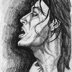Line Drawings Ronnie Wood Art, Line Drawing, Painting & Drawing, Graffiti, Ron Woods, Draw On Photos, Rolling Stones, Retro, Drawings
