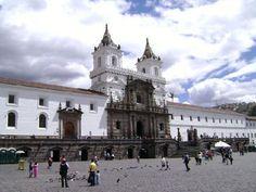 Iglesia de San Francisco, Quito Ecuador