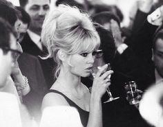Brigitte Bardot updo hairstyle