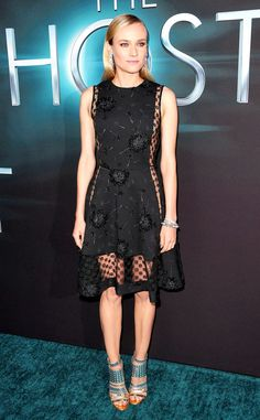 Diane Kruger at the Hollywood premiere of The Host