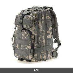4f548cfd06b0c Military Style Outdoor 30L Waterproof Rucksack Backpack Outdoor  Aktivitäten