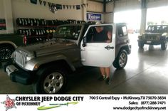 Congratulations to Edward Warren on your #Jeep #Wrangler Unlimited purchase from Brent Briggs at Dodge City of McKinney! #NewCar