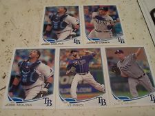 TAMPA BAY RAYS 2013 Topps Series 2 (5) Card Lot DAVID PRICE JAMES LONEY Mint AL