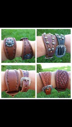 Spur strap bracelets #cowgirljewels