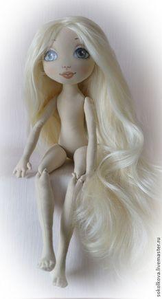 Куклы и игрушки ручной работы. Ярмарка Мастеров - ручная работа Авторская выкройка текстильной шарнирной куклы. Handmade.