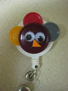 vial top thanksgiving turkey- perfect for all the nurses out there!