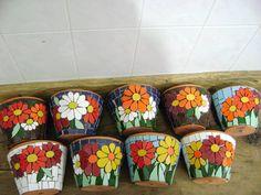 Vasos de parede pequeno