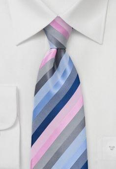 Corbata rosado, celeste, plata rayas Corbata a rayas en plata, celeste y rosado http://www.corbata.org/corbata-rosado-celeste-plata-rayas-p-15013.html