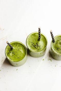 Healthy Vegan Matcha Milkshake Shakes | With Food + Love