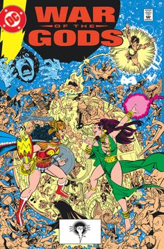 Wonder Woman: War of the Gods Trade Paperback Cover by George Perez