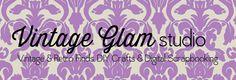Vintage Glam Studio - DIY PaperCrafts  Scrapbooking & Design