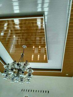 Pvc Ceiling Design, Ceiling Design Living Room, Roof Ceiling, Bedroom False Ceiling Design, False Ceiling Living Room, Ceiling Lights, Pvc Wall Panels Designs, Wall Panel Design, Bedroom Cupboard Designs