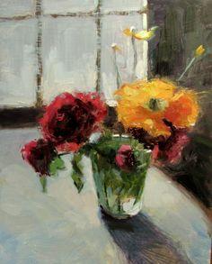 California Poppy, painting by artist Dana Cooper