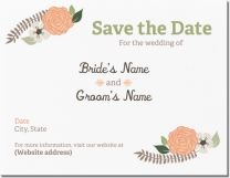 botanical floral Invitations & Announcements