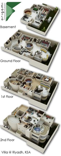 Here are 16 awesome ideas for diy Christmas decorations. 3d House Plans, House Plans Mansion, Small House Plans, Casas The Sims 4, Architectural House Plans, Apartment Floor Plans, 3d Modelle, Contemporary House Plans, Home Design Plans