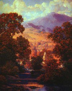 Maxfield Parrish--Sunlit Valley
