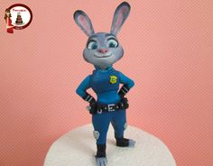 Judy From Zootopia Cake Topper on Cake Central