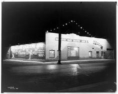 Huntington Park Skating Rink, Slauson Avenue, 1929