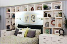 DIY-Built-in-shelves