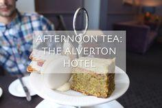 AFTERNOON TEA AT THE ALVERTON HOTEL, Cornwall