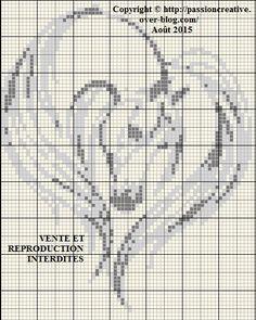 Grille d animaux au point de croix couture pinterest - Blog broderie point de croix grilles gratuites ...