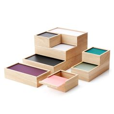Auslaufartikel: Applicata - ObjectBox Aufbewahrungsbox medium, grau