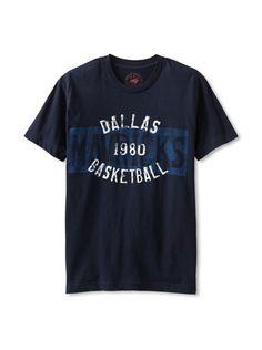31% OFF Sportiqe Apparel Co. Men's Mavericks Full Court T-Shirt (Navy)