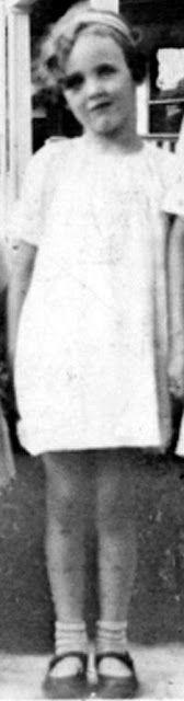The Black Dahlia: Elizabeth Short, 11 years old.