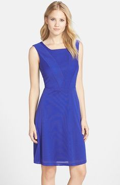 Marc+New+York+by+Andrew+Marc+Jersey+Fit+&+Flare+Dress+available+at+#Nordstrom