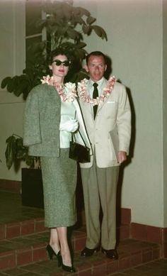 Frank Sinatra, Ava Gardner, Hawaï, 1953