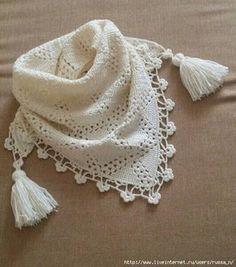 Delicadezas en crochet Gabriela: Pañuelos / Crochet