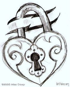 Heart locket.........by: Pencil. ive locked my heart so it doesnt get anymore broken then it already is
