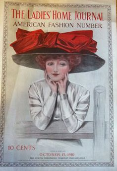 Ladies Home Journal- Red Bow