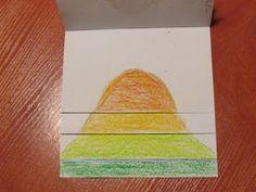 Játékos tanulás és kreativitás: Domborzat flipbook Geology, School