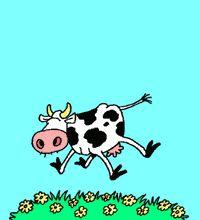 Postales de Vacas. Envía felicitaciones con Vacas gratis desde internet. Tarjetas Postales de Vacas animadas. Ciberpostales para enviar gratis a modo de felicitación o para destacar la amistad, mensajes divertidos, recordatorios o simplemente por gusto, cualquier momento es bueno para hacerlo.
