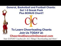 9 Cheerleading Chants to use Today From Cheer and Dance On Demand.com