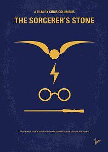 Harry Potter Digital Art - No101 My Harry Potter Minimal Movie Poster by Chungkong Art