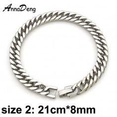 CHIMDOU Stainless Steel Men's Bracelet