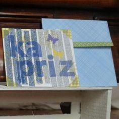 Kapriz - Mood cards   Made of recycled envelops