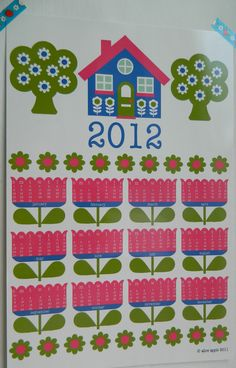 calendar by alice apple
