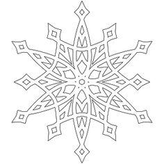 mandala coloring pages Snowflake Stencil, Snowflake Template, Snowflake Pattern, Snowflake Coloring Pages, Christmas Coloring Pages, Mandala Coloring, Making Paper Snowflakes, Christmas Snowflakes, Christmas Colors