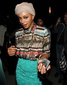 Solange Knowles - she never puts a foot wrong with her style