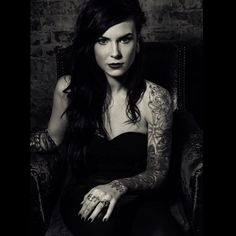 Cally-jo... Incredible tattoo artist and one beautiful lady!